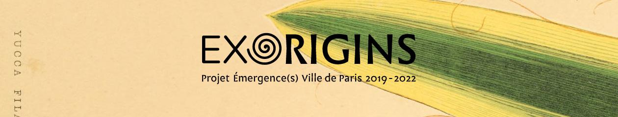 EXORIGINS : De la diversité bio-culturelle dans les jardins des parisiens. Circulations croisées de végétaux, de personnes et d'imaginaires